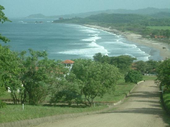 Tola, Nikaragua: View of Playa Santana (wet season)