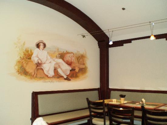 Dimpflmeier Bakery: Dimpflmeier seating area