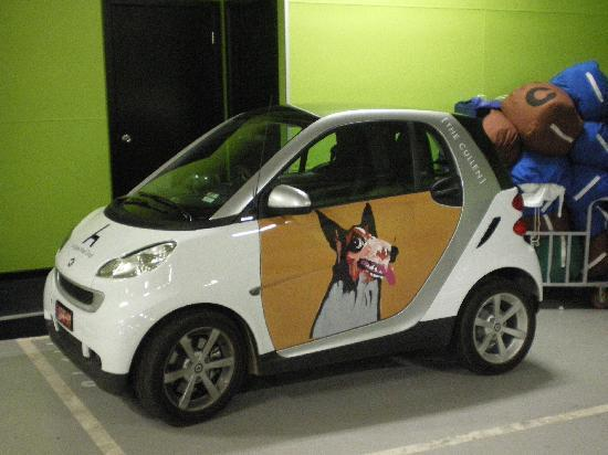 Art Series - The Cullen : You Can Also Rent This Cute Little Car