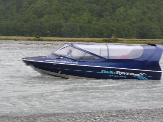 Dart River Adventures: Jet boat thrills