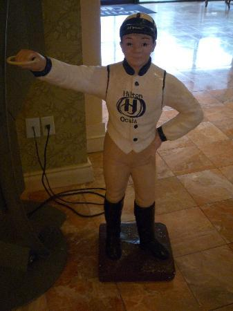 Hilton Ocala: Frankie Dettori