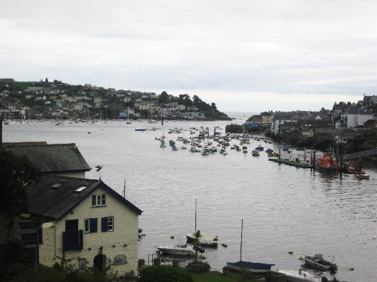 Fowey, UK: dull and boring