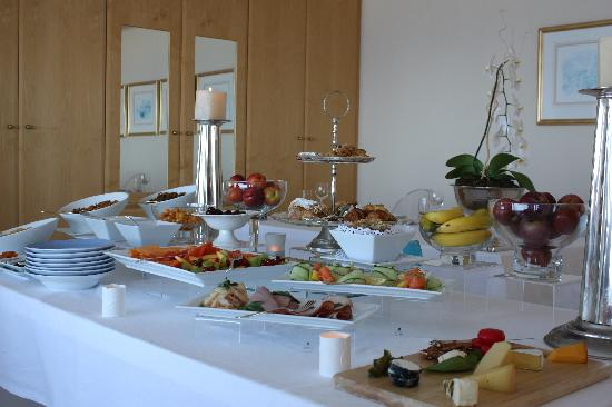 Atlantic Suites Camps Bay: The amazing breakfast selection