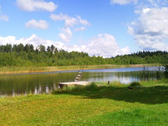Masko, Finland: Sun + lake = sweet.