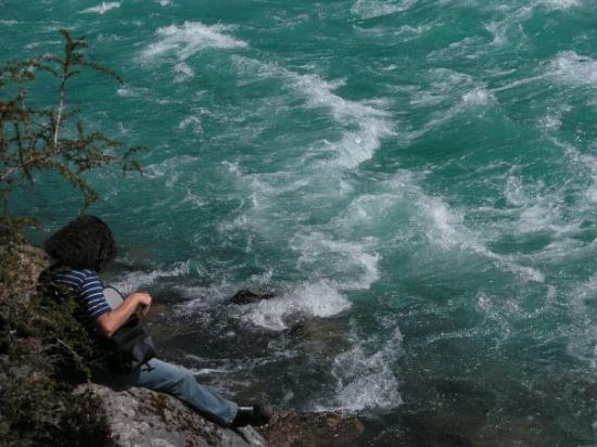 Futaleufu, Chile: Río Baker.
