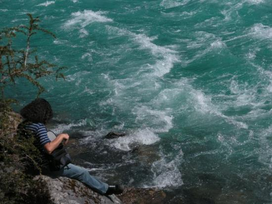 Futaleufu, Chili: Río Baker.