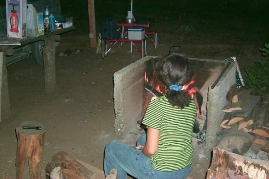Futaleufu, Χιλή: Camping en Futaleufú.