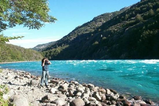 Futaleufu, Чили: Río Baker. XI región, Chile.