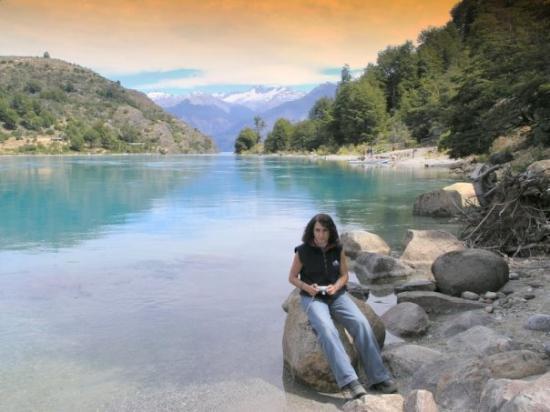 Futaleufu, Chile: Desagüe del Lago General Carrera, XI región, Chile.