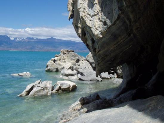 Futaleufu, Χιλή: Cavernas de marmol.