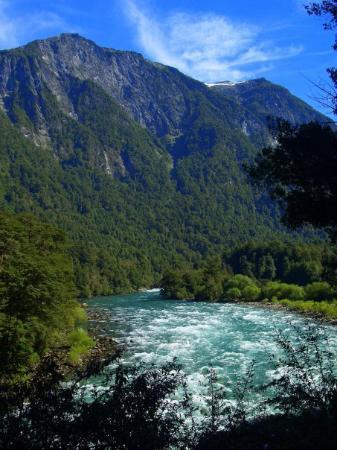 Futaleufu, Χιλή: Rápidos del río Futaleufú.