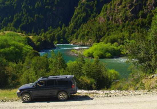 Futaleufu, Chile: Río Futaleufú.