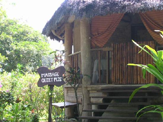 Paradise Cove Resort: bungaow pour massage