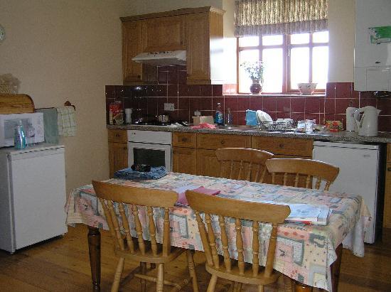 Castle House Farm Cottages: Kitchen in Stable Cottage