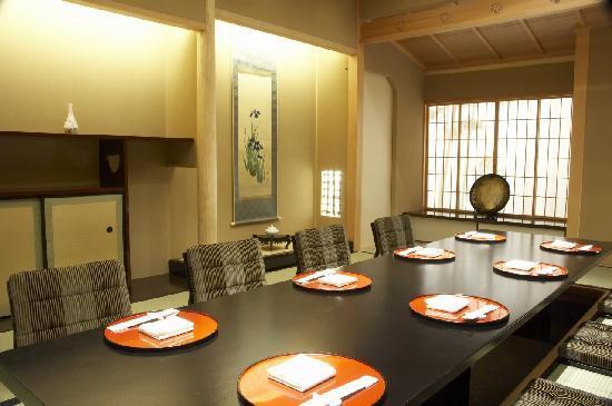 Keio Plaza Hotel Tokyo: Japanese Kaiseki Restaurant