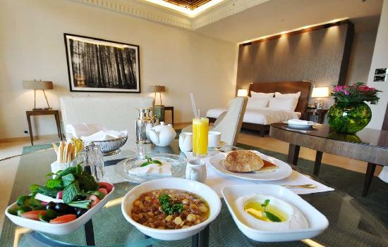 Le Gray Beirut: In Room Breakfast