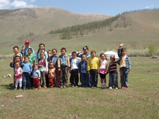 Bayanhongor, Mongolei: Mong.SchoolChildren