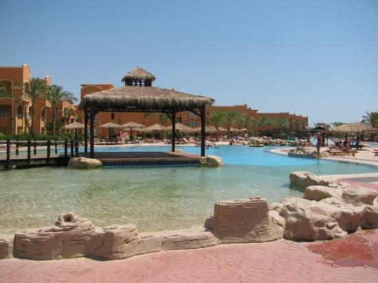 Soma Bay, Egypt: Carribean World pool