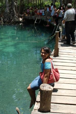 Celestun, México: Manantial de Celestún