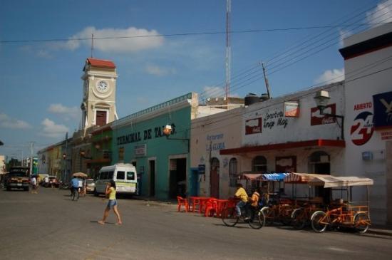 Celestun, México: Pueblito antes de llegar