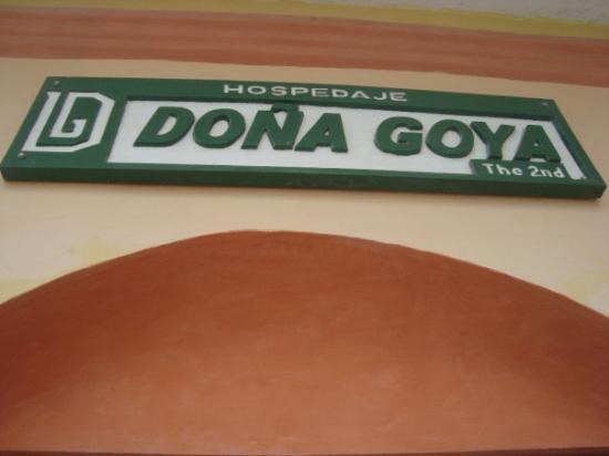 Hospedaje Dona Goya: Where we stayed in Flores