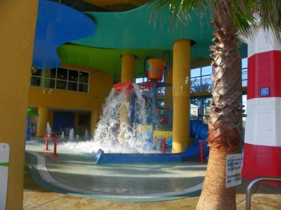The waterpark at our resort.