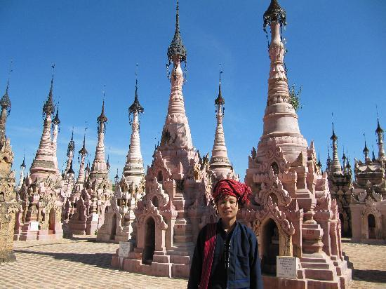 Inle Princess Resort: le site de Kakku