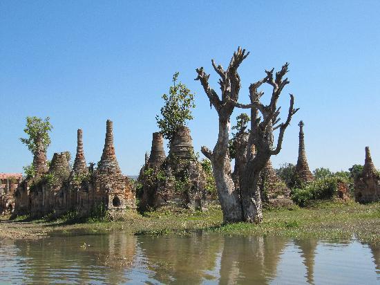 Inle Princess Resort: le site de Sagar