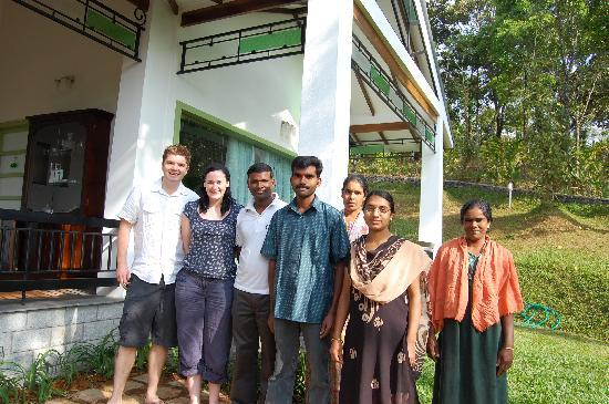 Aanavilasam Luxury Plantation House: Saying a sad farewell to the lovely staff