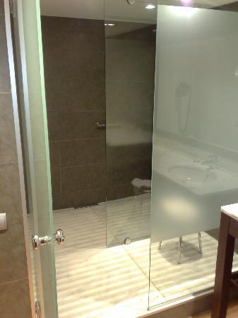 Magnolia Hotel: ducha con pre-ducha
