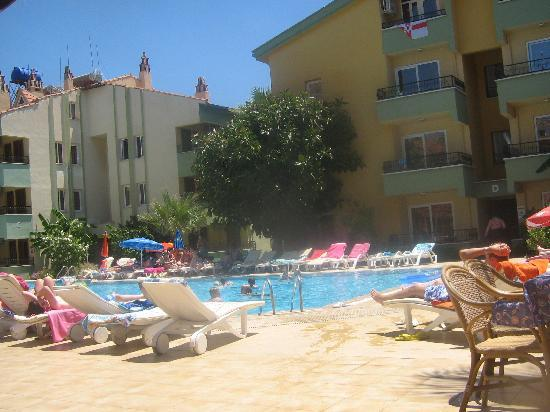 Club Palm Garden (Keskin) Hotel  & Apartments: the pool view from the resturaunt