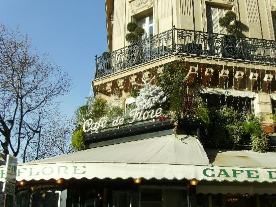 Paris, France: Cafe de Flore