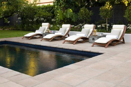 Swimming Pool Sun Loungers Picture