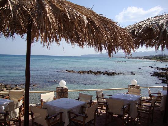 Cactus Beach Hotel & Bungalows : il mare di fronte all'hotel