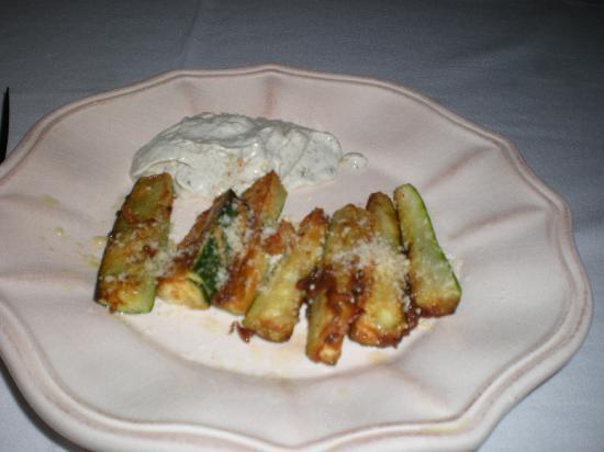 Zamaca Bed & Breakfast: Delicious appetizer prepared by Ellen
