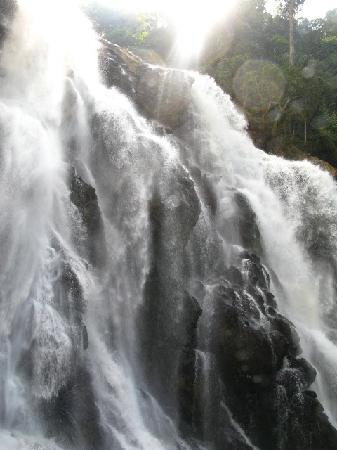 Emarald Western Ghats Resorts: Waterfall about an hour away