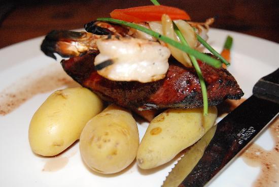 Custom House: flat iron steak