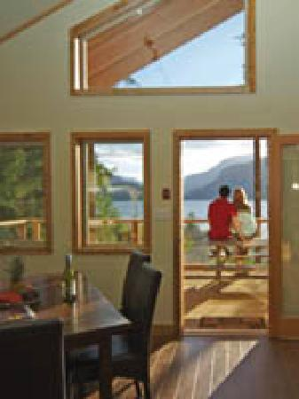 Strathcona Park Lodge & Outdoor Education Centre: interior of cottage 15