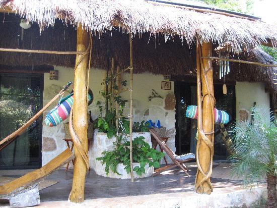 La Selva Mariposa: Rooms 1 (right) and 2 (left)