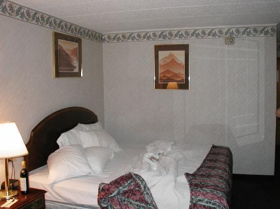Days Inn Scranton PA: The room