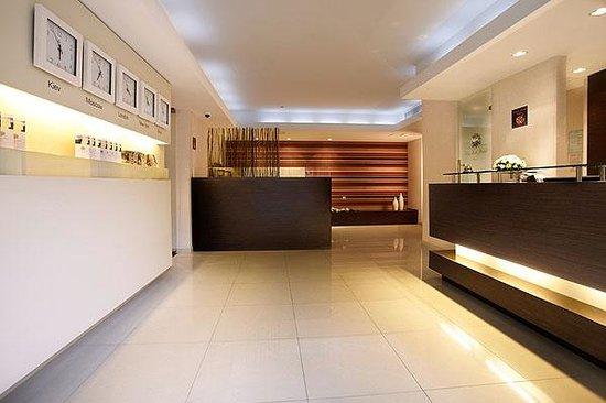 City Park Hotel: Lobby