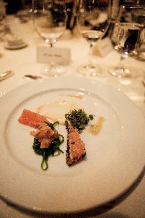 Ripplecove Lakefront Hotel and Spa: Salmon trio