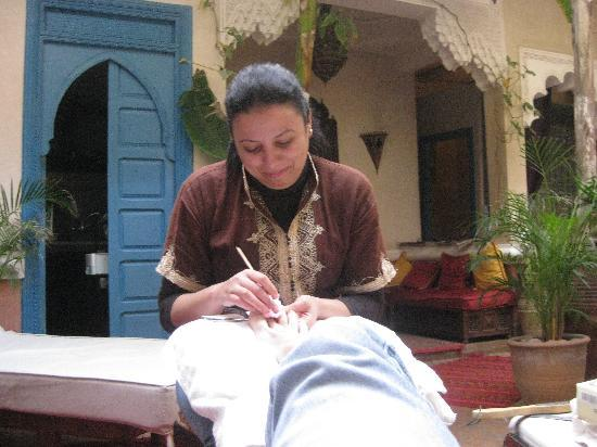 Riad Spa Sindibad: un soins