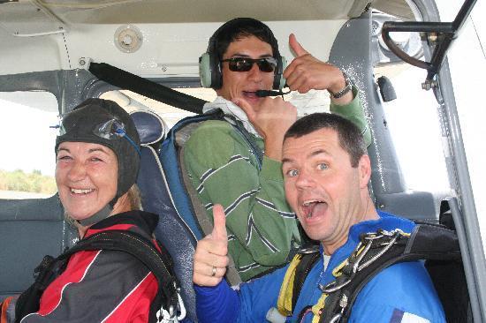 Skydive Kaikoura Ltd: No really off they go