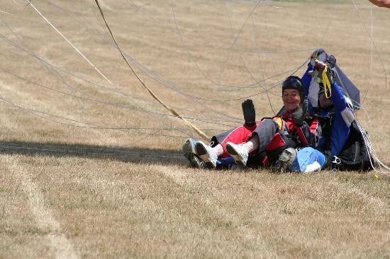 Skydive Kaikoura Ltd: Ah it's all over
