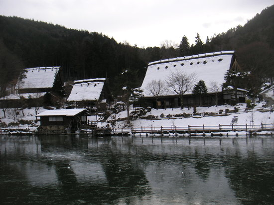 Takayama, اليابان: Hida no Sato (Hida Folk Village), Takayama