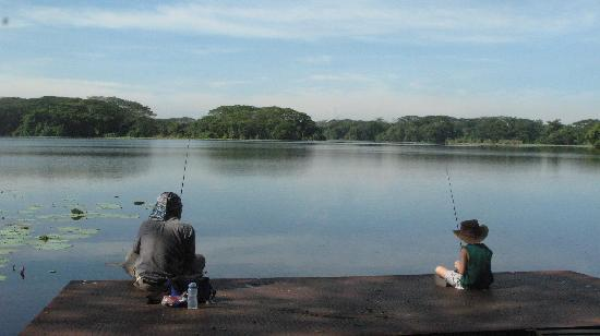 Clearwater Sanctuary Golf Resort: perfect fishing spot for beginner and experienced anchorer