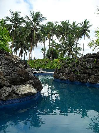 Lomalagi Resort ~ Fiji: Cool down in the lovely pool with waterfall