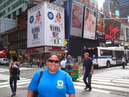 Bilde fra Mamma Mia! on Broadway