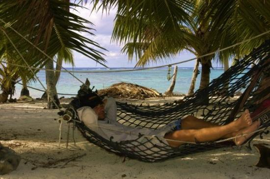 Palmerston Island, Cook Islands: ...or you can sleep.